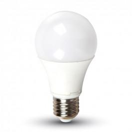 LED Крушка - 11W E27 A60 Термо Пластик Топло бяла светлина