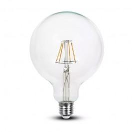 LED Крушка 6W Filament E27 G125 6400K