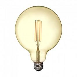 LED Крушка - 12.5W Filament E27 G125 Amber 2200K