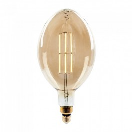 LED Крушка - 8W Прав Filament Е27 BF180 Димираща 2000К