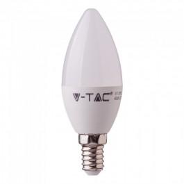 LED Крушка - 5.5W E14 C37 Кендъл 6400К CRI 95+