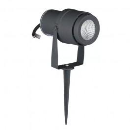 12W Градинска Лампа Тип Колче Сиво Тяло 4000К