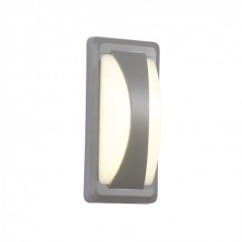 12W Фасаден Аплик Преграда IP65 Топло бяла светлина