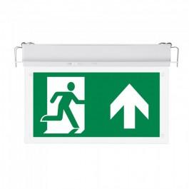 2W LED Евакуационно Таван За Вграждане 6000К