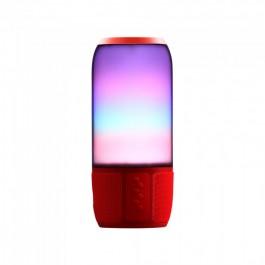 2*3W LED Лампа Колона USB + TF Слот Черна