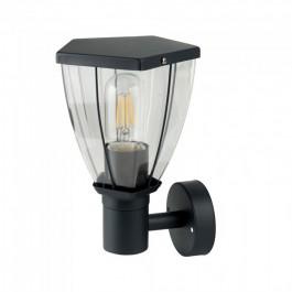 Стенна Лампа Черен Мат На Горе