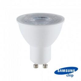 LED Крушка - SAMSUNG ЧИП 8W 38° GU10  6400K