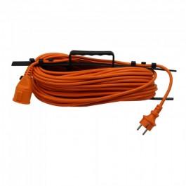 30М Удължител 16А Оранжев EU Стандарт IP44