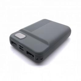 Външна Батерия 10000mAh Сива