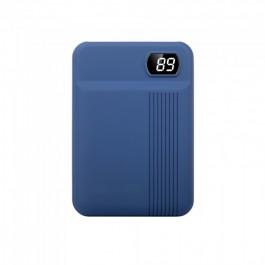 Външна Батерия 10000mAh Тъмно Синьо