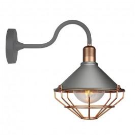 Стенна Лампа GLO E27 IP65 Ф250 Розово Злато