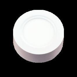 8W LED Панел Външен монтаж - Кръг топло бяла светлина