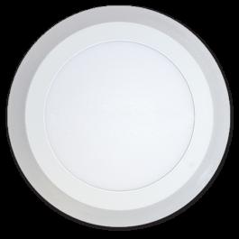 6W+2W LED Панел Външен монтаж - Кръг топло бяла светлина