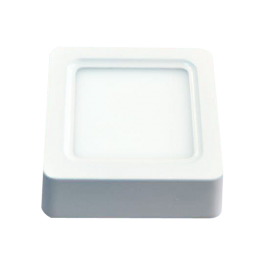 8W LED Панел Външен монтаж - Квадрат бяла светлина