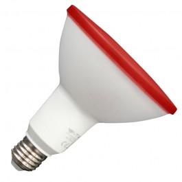 LED крушка - 17W PAR38 E27 IP65 Червена