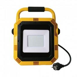 50W LED Прожектор SAMSUNG ЧИП Със Стойка 6400К IP65