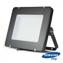 500W LED Прожектор SAMSUNG Чип SMD SLIM Черно Тяло 6400К 120 lm/W