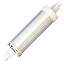 LED Крушка - 7W R7S Plastic Неутрално бяла светлина