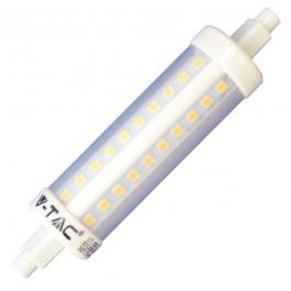 LED Крушка - 10W R7S Plastic Неутрално бяла светлина