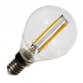 LED Крушка - 4W E14 P45 топло бяла светлина Винтидж Димираща