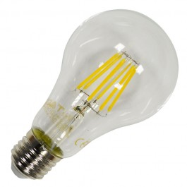 LED Крушка - 8W Винтидж E27 A67 Топло бяла светлина