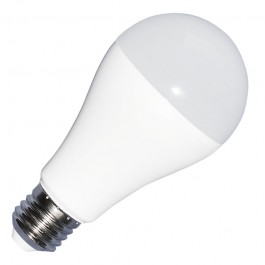 LED Крушка - 9W E27 A60 Термо Пластик 3-Степенно Димиране Бяла Светлина