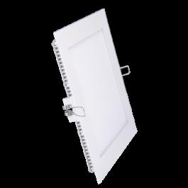 15W LED Мини панел без Драйвър - Квадрат, Бяла светлина