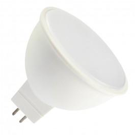 LED Крушка - 7W MR16 12V SMD Пластик Топло Бяла Светлина