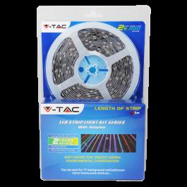 LED Лента Комплект - 5050 60 LEDs RGB Невлагозащитена