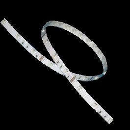 LED Лента 5050 - 30LED топло бяла светлина, невлагозащитена 5 метра