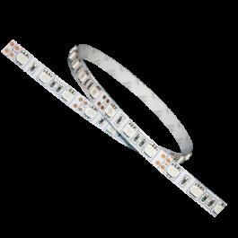 LED Лента 5050 - 60LED топло бяла светлина, невлагозащитена 5 метра