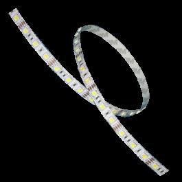 LED Лента 5050 - 60 LEDs Топло бяла светлина Невлагозащитена 5 метра