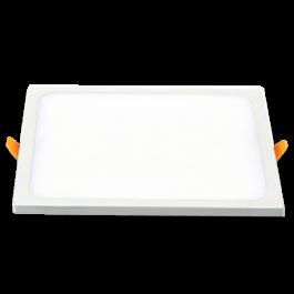 15W LED Панел - Квадрат топло бяла светлина