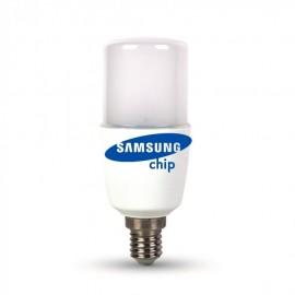 LED Крушка - SAMSUNG ЧИП 8W E14 T37 Студена светлина