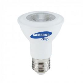 LED Крушка - SAMSUNG ЧИП 7W E27 PAR20 Неутрална Светлина