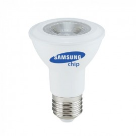 LED Крушка - SAMSUNG ЧИП 7W E27 PAR20 Топло Бяла Светлина