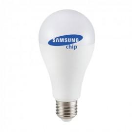 LED Крушка - SAMSUNG ЧИП 12W E27 A++ A65 Неутрална светлина