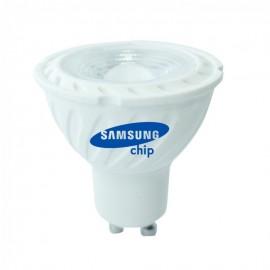 LED Крушка - SAMSUNG ЧИП 6.5W GU10 110° 6400K