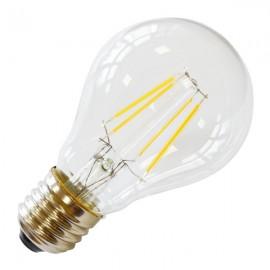 LED Крушка - 4W Винтидж E27 A60 Топло бяла светлина