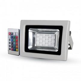 10W LED Прожектор RGB С RF Дистанционно SMD