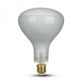 LED Bulb 8W Straight Filament E27 R125 Dimmable 2700K
