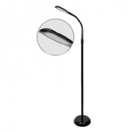 7W LED Лампион Черно Тяло Неутрално бяла светлина