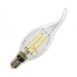 LED Крушка - 4W Винтидж E14 Свещ пламък Топло бяла светлина
