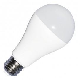 LED Крушка - 9W E27 A60 Термо Пластик 3-Степенно Димиране Неутрална светлина