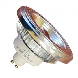 LED Крушка - AR111 GU10 40° 12W 12V Бяла светлина